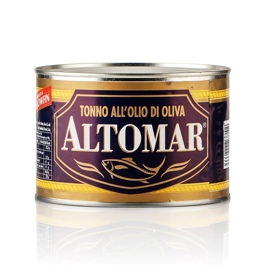 TONNO in olio d'oliva altomar