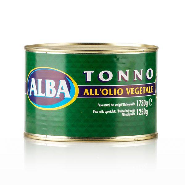 tonno all'olio vegetale alba