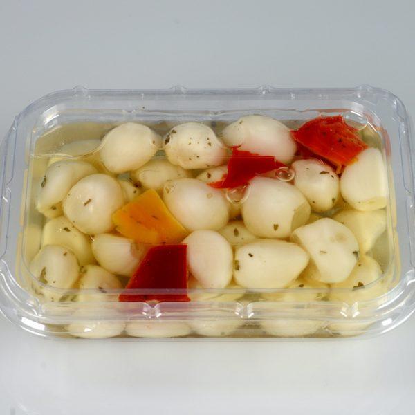 aglio in vaschetta
